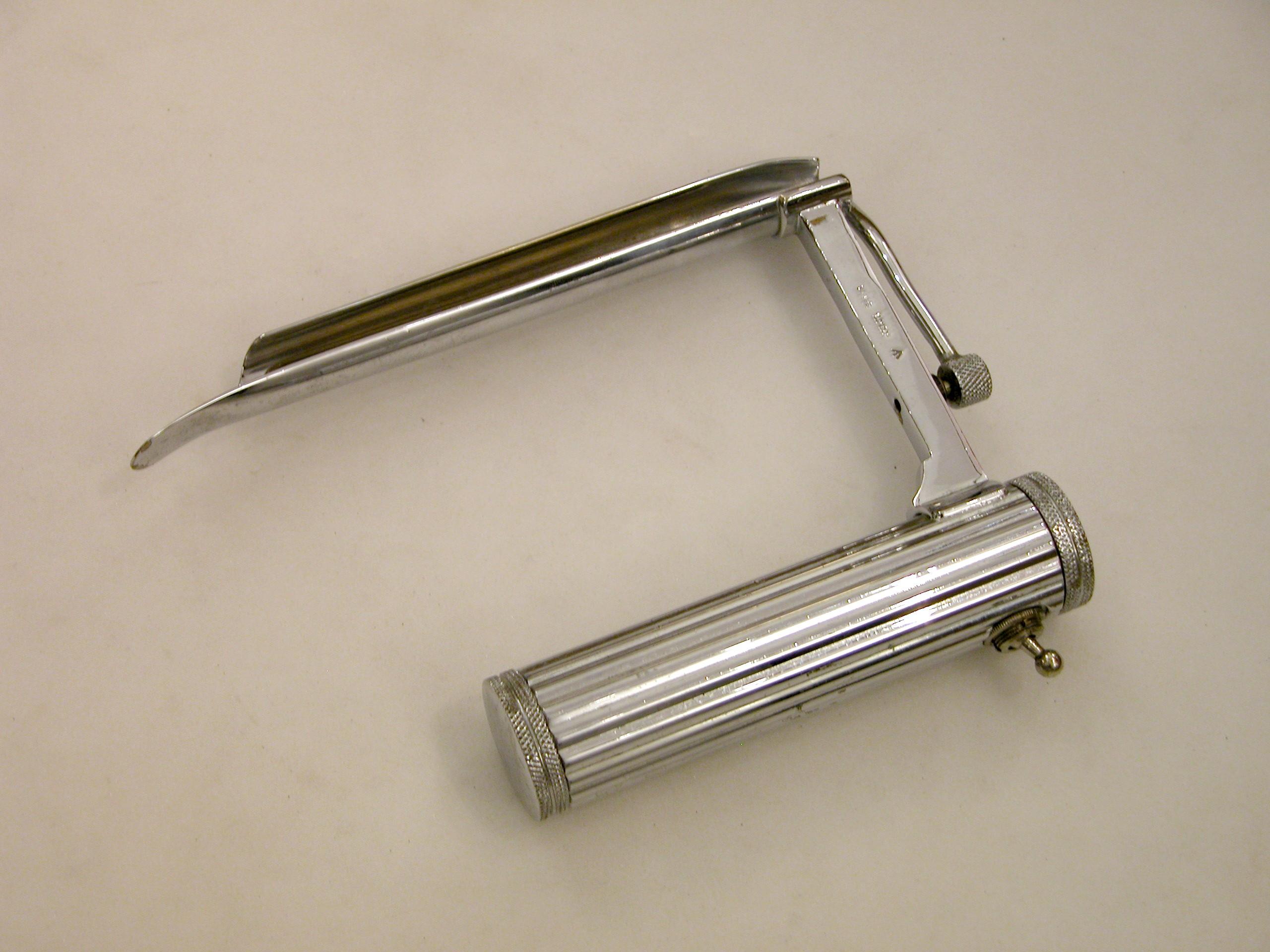 Laryngoscope developed by Dr Ivan Magill.